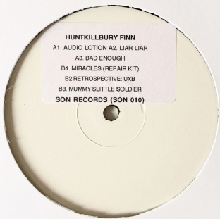 "Huntkillbury Finn ‎- Mummy's Little Soldier EP (12"") (Promo) (EX+/NM)"